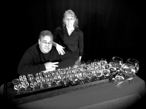 Glass Music of eric and Susan Scites